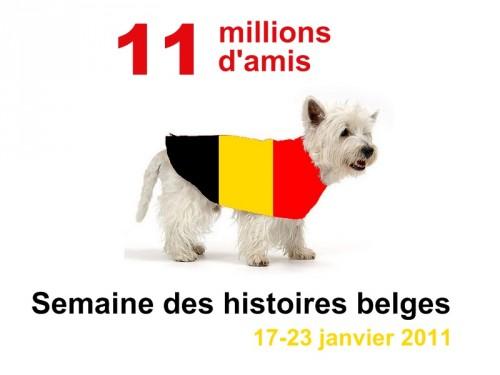 Semaine des histoires belges 2011